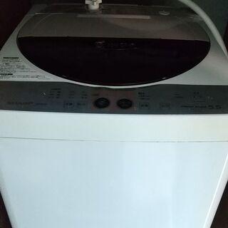 ジャンク品 SHARP 全自動電気洗濯機 0円