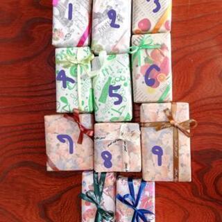 プレゼント包装致します。