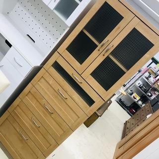 〈〉食器棚 収納棚 キッチン収納 キッチン家具 収納家具 …
