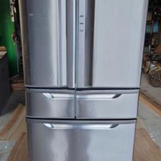 【ネット決済・配送可】HITACHI  6ドア535L冷凍冷蔵庫...