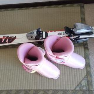 子供用スキー板&ブーツ 19cm