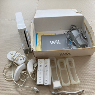wii本体とwiiFit
