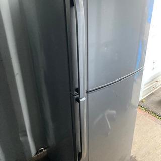 【重】1207-20 290L SHARP 2ドア冷蔵庫 201...
