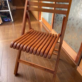 【お取引中】折り畳み椅子