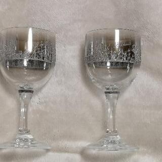 ワイングラス 2つセット 美品
