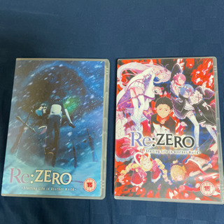 Re:ゼロから始める異世界生活 コンプリート DVD-BOX1