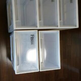 (お譲決まりました)収納ボックスの画像