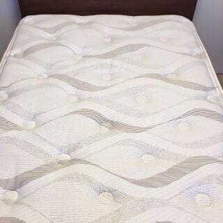 シモンズの高級シングルベッド(フレーム+マットレス)