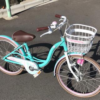 自転車 20インチ 整備済み 比較的キレイですの画像
