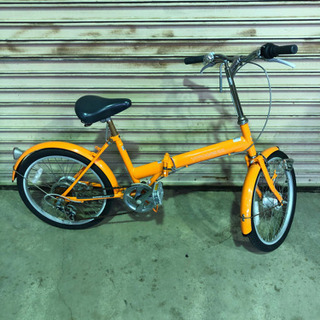 ギア付き 折りたたみ自転車