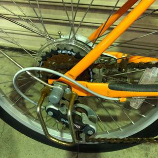ギア付き 折りたたみ自転車 − 福井県