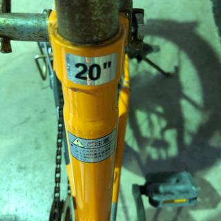 ギア付き 折りたたみ自転車 - 売ります・あげます