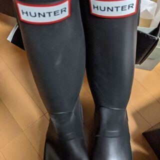 HUNTER レインブーツ(長靴) - 東根市
