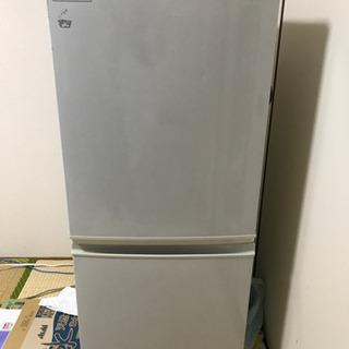 冷蔵庫 和歌山市 引取限定 SHARP SJ-14P-H