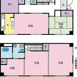 甲府市武田1丁目 甲府駅から徒歩8分 5DK(119.80㎡)