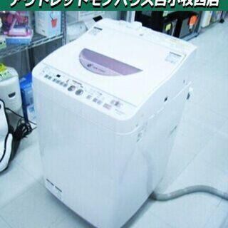 洗濯機 6.0kg 2014年製 シャープ ES-TG60L 全...