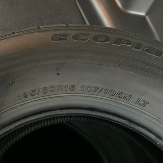 ハイエースタイヤ 195/80/R15
