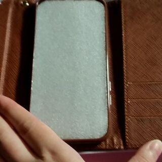 6.7.8G対応 手帳型iPhoneレザーケース  ブラウン - 売ります・あげます