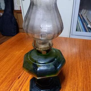 【ネット決済】値引きしました  アンティーク灯油ランプ