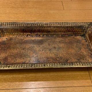 木製 ブレート型のオプジェ 差し上げます。