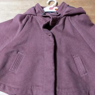 新品 子ども アウター コート ポンチョ 120cm
