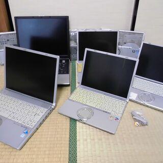 ノートパソコン 8台+ ,さしあげます、0円,,