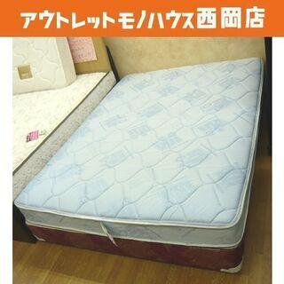 レア☆米軍放出品 ベッド サイズ:ワイドダブルロング 幅152c...