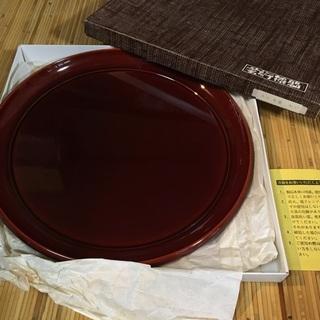盆B[丸型] 漆器 丸盆