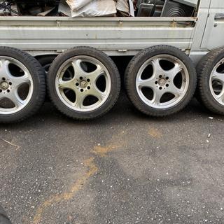 【ネット決済】ベンツW220使用 スタッドレスタイヤ