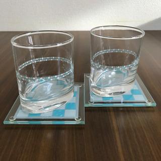ダイヤモンドシライシのペアグラス