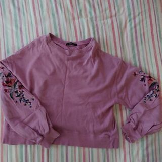 w closet トレーナー ピンク フリーサイズ