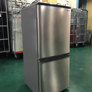 SHARP 2ドア冷蔵庫  SJ-D14E-N 2019年製