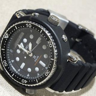 【苫小牧バナナ】新品同様 SEIKO PROSPEX DIVER SCUBA SBEQ001 セイコー プロスペックス ダイバー ソーラー 腕時計 - 苫小牧市