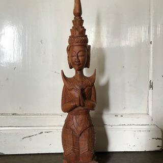 【値下げ】レトロ 仏像