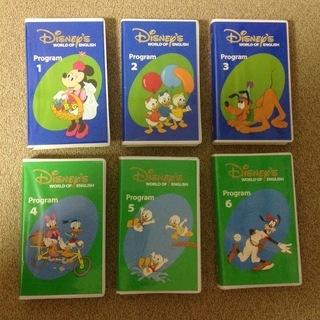 DWE ディズニー英語システム VHSタイプ