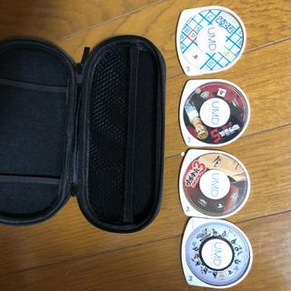 PSPのケースとソフト