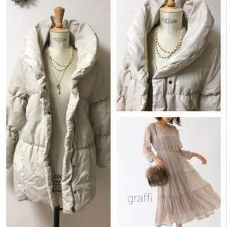 024:とても軽い中綿入りベルト付きコート