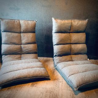 (購入者決定)個人出品 ニトリ座椅子×2