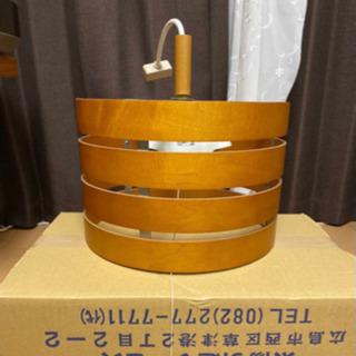 木製 ペンダントライト 【美品】 - 広島市