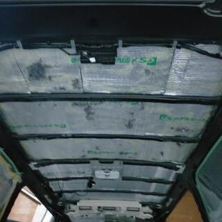 車ハイエース、キャラバン等 防音断熱施工