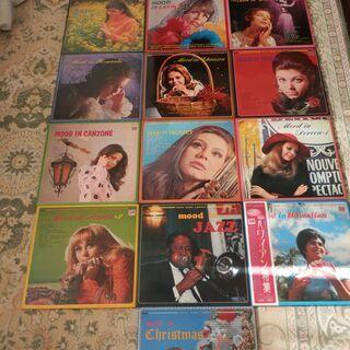 LPアナログレコード盤 世界ムード音楽全集全16集 2,000円...