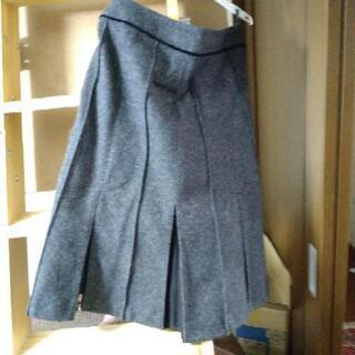 XXL コムサイズム ジャンバースカート ボックススカート
