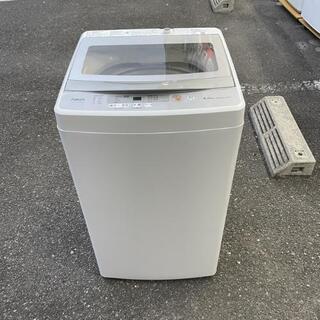 【美品】洗濯機 アクアAQR-GS50H 2020年 5k…