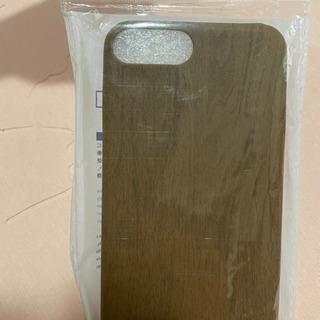 未使用☆木目調iPhoneソフトカバー(7plus、6plus、...