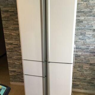 三菱 ノンフロン冷凍冷蔵庫 407L MR-A41NFの画像