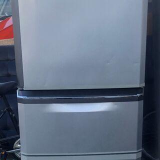 三菱ノンフロン冷凍冷蔵庫 MR-C34ET-AS形 201…