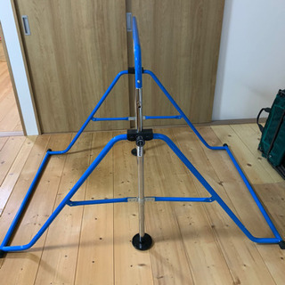 子供用 鉄棒 dabada折りたたみ鉄棒 耐荷重70キロ