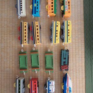 プラレール(中間、後ろ車両)16車両