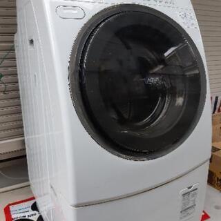 オゾンで洗う ドラム式洗濯乾燥機 サンヨー アクア