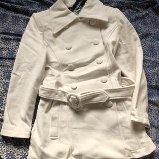未使用タグ付きホワイトコート